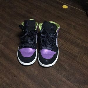 Girls air Jordan tennis shoes